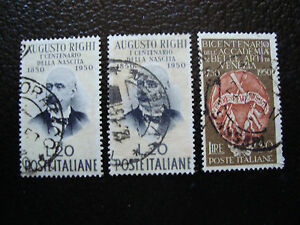 Italy-Stamp-Yvert-and-Tellier-N-570-571-Obl-A12-Stamp-Italy-E