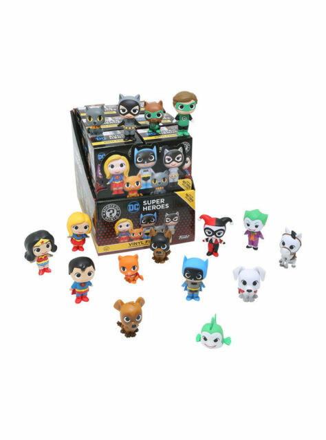 Funko Mystery Minis Dc Super Heroes and pets Set of 12 Hot topic