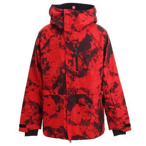 686 Glacier Gore Hydrastash Sync Snowboard Jacket (L) RED L9W103-RED