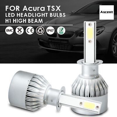 Cree H1 Led Headlight Kit Bulbs High Low Beam 6000k For