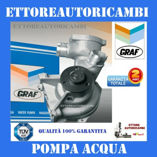 E61 520 525 530 125//141//170kw TOUR E60 PA432A- POMPA ACQUA GRAF BMW SERIE 5