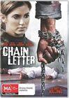 Chain Letter (DVD, 2011)