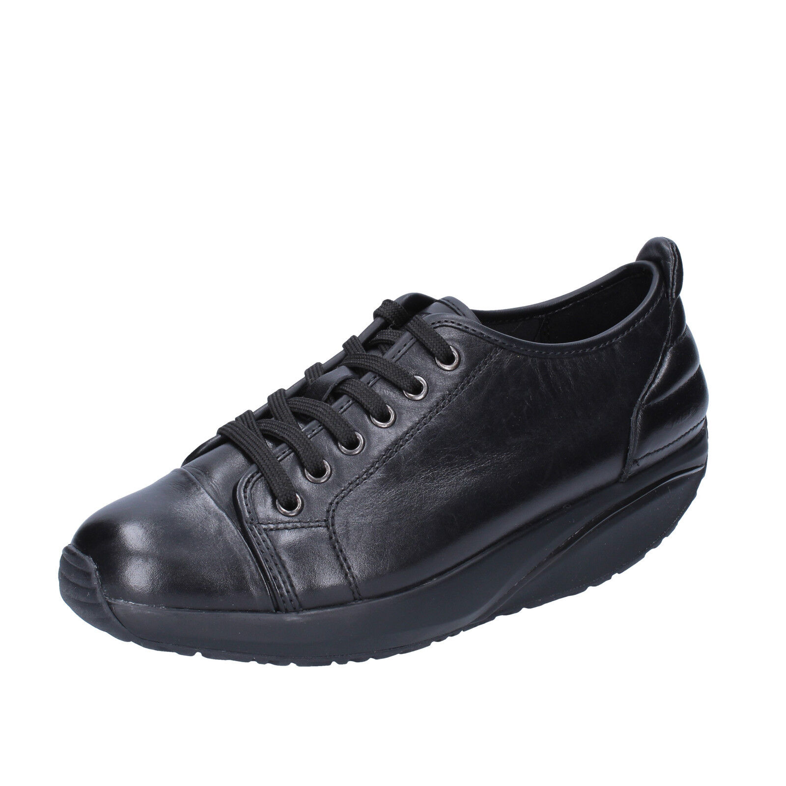 Femme   chaussures  MBT AFIYA 5S 3,5 (EU 36) sneakers  noir  leather performance BT64-36