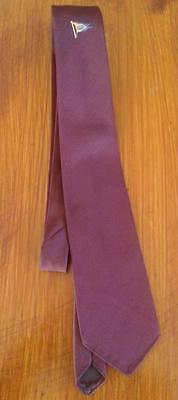 Essa (il Popolo Di Banane!) Bordeaux Tie-dalla 1970s-nuovo-da Sharps, Kent-mostra Il Titolo Originale Stile (In) Alla Moda;
