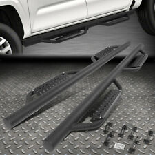 For 2005 2021 Tacoma Double Cab Round Bar Side Step Nerf Bar Running Boards