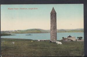 Northern-Ireland-Postcard-Round-Tower-Devenish-Lough-Erne-RS8117