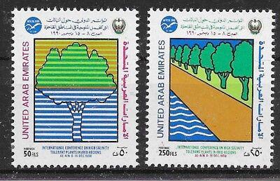 Pa506 Vae-vereinigte Arabische Emirate/ Bäume Minr 325/26 ** Motive