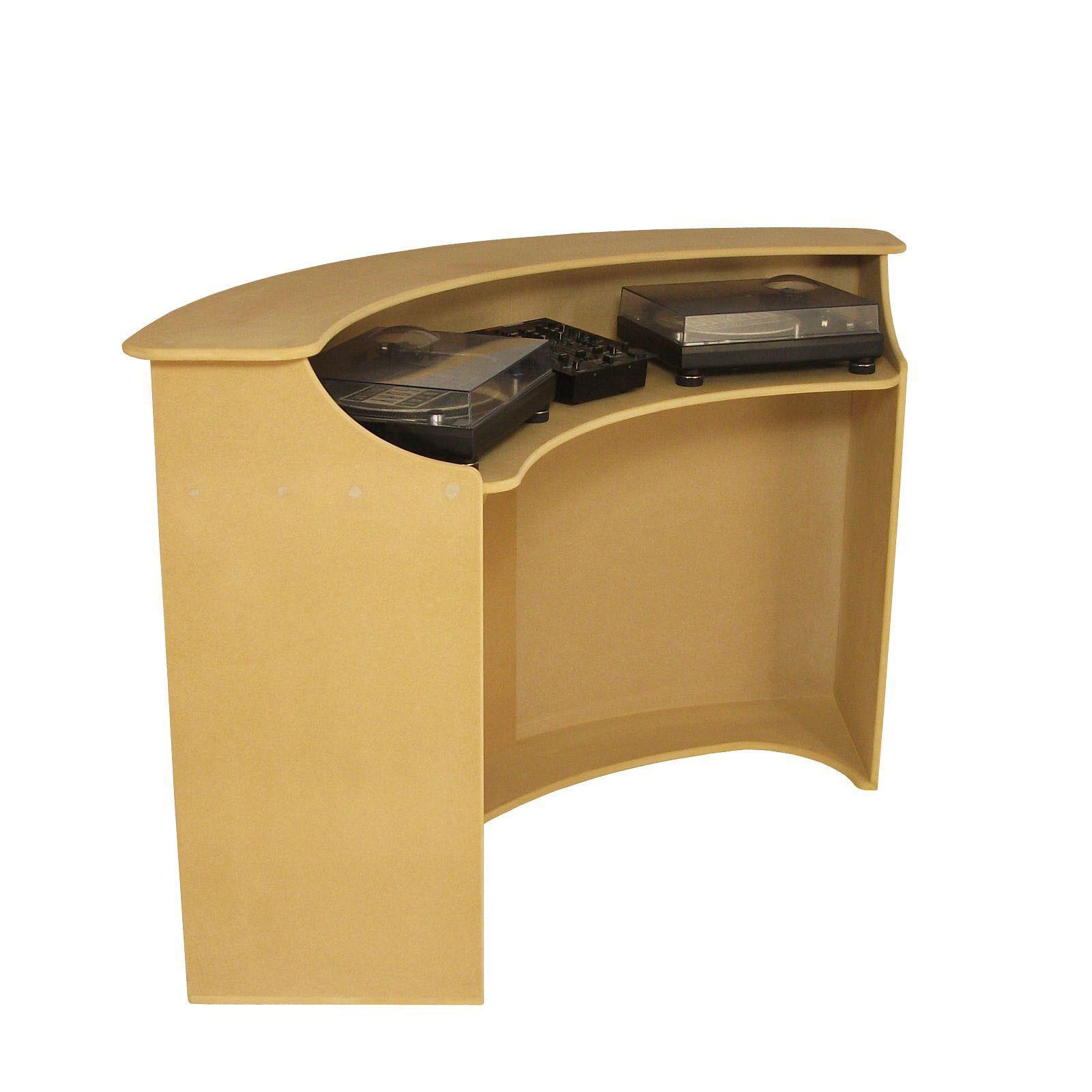 DJ Booth Desk Stand for Decks, CDJ's & Mixer Pubs & Clubs - Sound Desks (DB3)