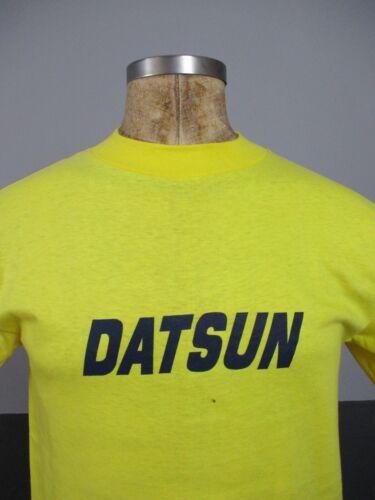 Vtg 70s Datsun Automobiles T-Shirt