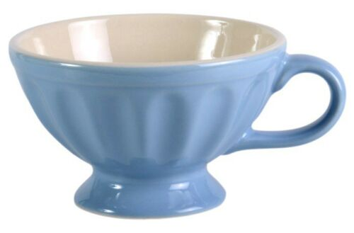 """Tasse geriffelte Keramik /""""Mynte/"""" hellblau /""""Nordic Sky/"""" IB Laursen Tasse Jumbo"""