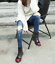Martens-Airwair-Women-Leather-8-Eye-Smooth-Ankle-Boots-WS55 thumbnail 6