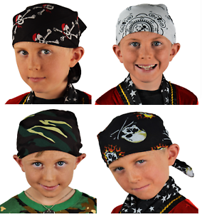 Dynamique Robe Fantaisie Bandana. Enfant/adulte. Pirate, Armée, Crâne. Différents Modèles. Uk-lt. Pirate, Army, Skull. Various Designs. Uk Fr-fr Afficher Le Titre D'origine