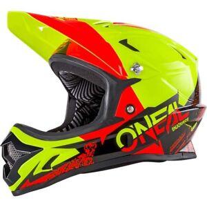O Neal Backflip Neon Full Face Dh Downhill Mtb Mountain Bike Helmet Fullface Xs Ebay