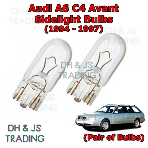Parking Lights Side Light Bulb Bulbs Audi A6 C4 Avant Front Sidelights 94-97