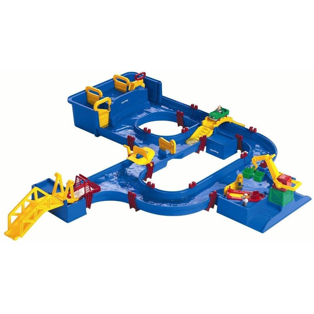 Aquaplay 645 Wasser Straße Spiel Bahn Wasserspielzeug NEU