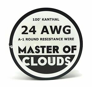 100 feet kanthal a1 resistance wire 24 awg gauge 100 lengths 100 feet kanthal a1 resistance wire 24 awg gauge 100 lengths 787421218084 greentooth Image collections