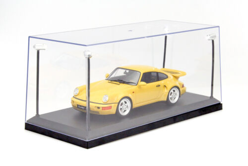 Individuales vitrina con 4 LED móviles-lámparas para coches de modelo en escala 1:18 tri