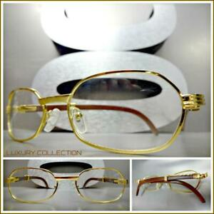 12fecafe139 Image is loading Mens-Sophisticated-UPSCALE-LUXURY-Fashion-Clear-Lens-EYE-