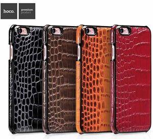 coque cuir iphone 8 plus crocodile ultra fins