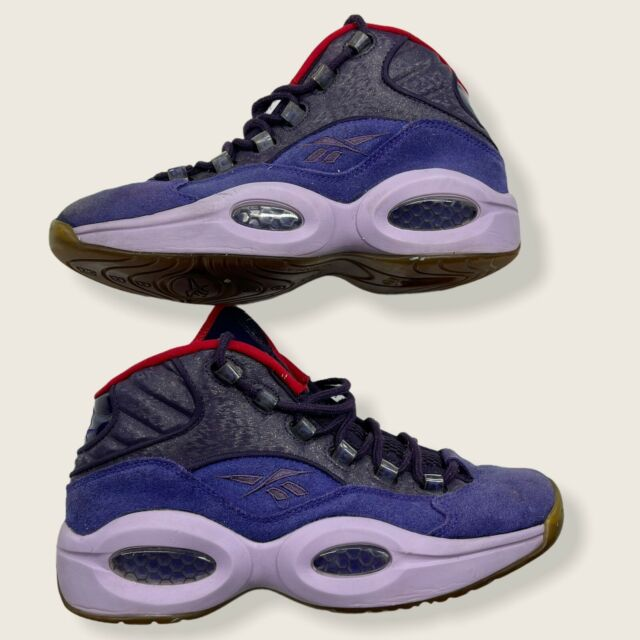 """Men's Reebok Question Mid """"Gost Of Christmas Future"""". US Size 8.5 V61429"""