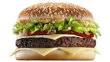 "Poster 24"" x 16"" Cheeseburger Burger Cheese Bun"