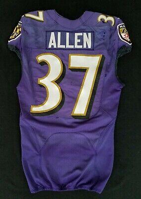 #37 Javorius Allen of Ravens NFL Practice Worn Jersey - BR 1810 | eBay