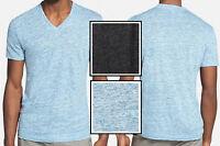 $95 Theory Linen Lightweight V-neck Tee Short Sleeve T-shirt