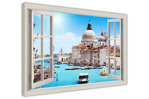ITALY VENICE CITY PRINTS CANVAS WALL ART PICTURES LANDSCAPE PHOTOS ITALY IMAGES