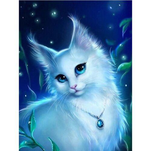 Cat 5D BRICOLAGE plein Perceuse Diamant mosaïque peinture populaire cross stitch Wall Decor