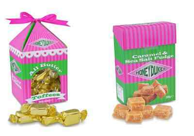 Harry Potter Honeydukes Butter Toffee or Caramel Sea Salt Fudge London Tour