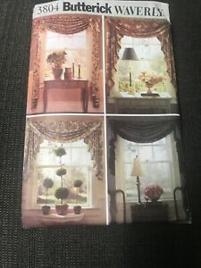 LIVING ROOM SECTIONAL SOFA SLIPCOVERS PATTERN  FF WAVERLY BUTTERICK #B4151