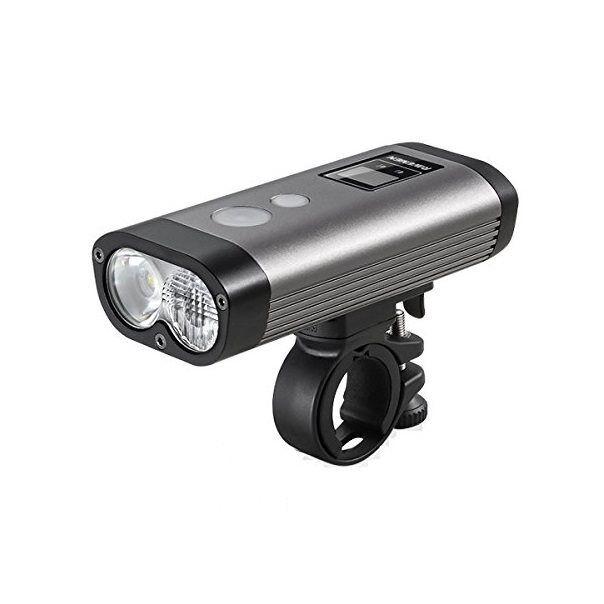 Luce anteriore pr1200 a led 1200 luuomini Raveuomini illuminazione bici