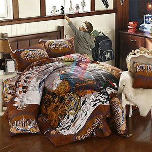 Harry Potter 9pcs Comforter Set Twin Full Queen Size Magic School