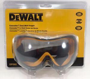 2471d91f5e0 DeWalt - DPG82-11 - Concealer Clear Anti-Fog Dual Mold Safety Goggle ...