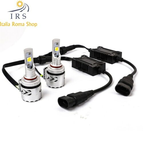 LAMPADA LED 9012 HIR2  MOD X3 6000 LM 6000 K