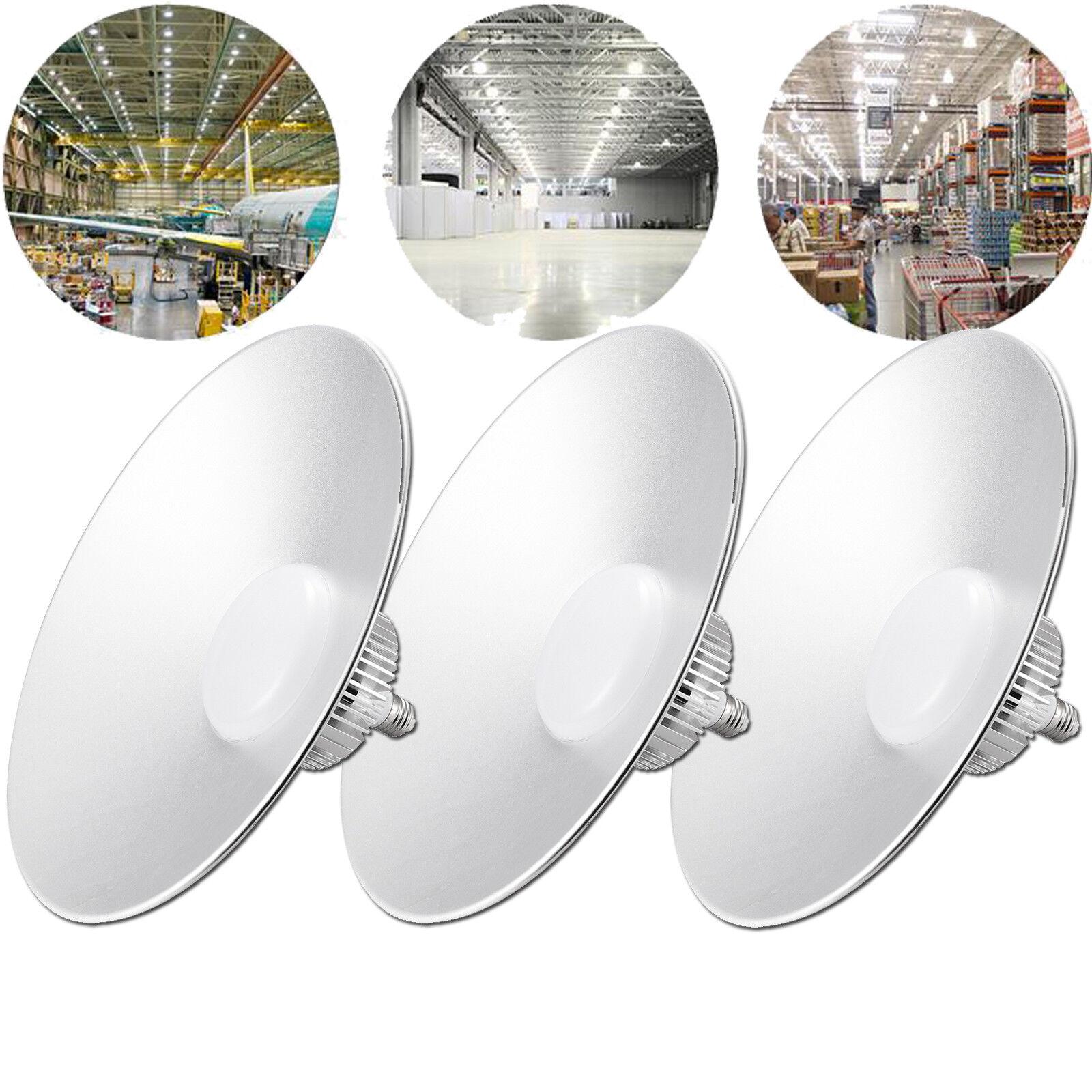 3x 100w e27 LED hallenleuchte industria lámpara highbay hallenstrahler blancoo eh