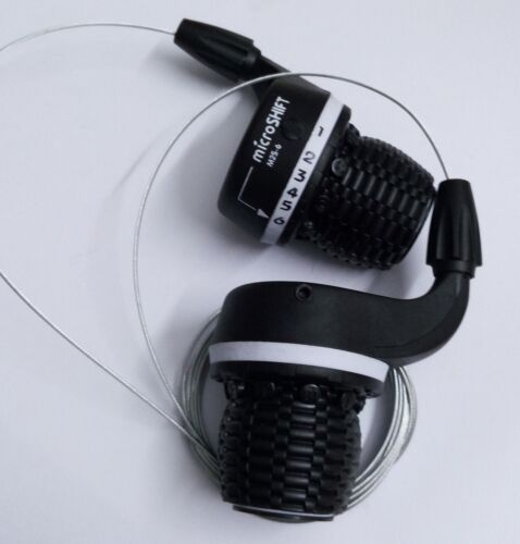 Twist Grip Gear Shifter 3X6 Speed Shift microSHIFT Compatible Shimano Derailleur