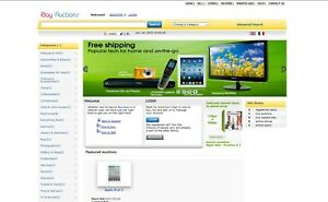 Auction website eBay Clone + Free Hosting and Installation