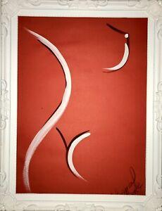 Margarita Bonke Malerei PAINTING art Bild erotica erotika akt abstract nu nude