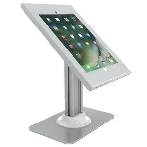 Silver-Counter-Top-iPad-Pro-12-9-034-Gen-1-amp-2-Anti-Theft-Kiosk-Mount-Base