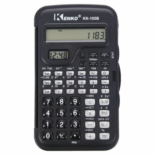 KENKO Student Elektronische 10 Ziffern Wissenschaftlicher Taschenrechner Rech P1