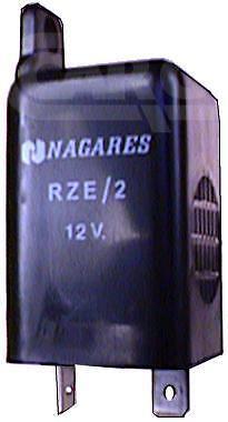 CARGO UNIVERSAL 12V WARNING RELAY BUZZER ALARM BEEPER 72DB TWO TERMINALS 160347