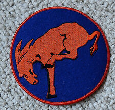 "Doolittle Raiders 95th Recon Sqd 5"" Felt Patch B25 WWII Repro"