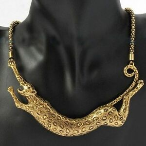 Leopard-Animal-Pendant-Chunky-Necklace-Chain-Women-Fashion-Jewlery-Bijoux