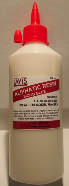 Aliphatic Resin Glue Woodworkers & Modelmakers Very Strong Wood glue 500ml T48Po