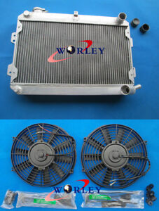 FB 1979-1985 Oilcooler for Mazda RX7 S1 S2 S3 SA 3 row aluminum radiator
