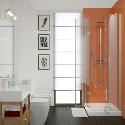 Proclad Terracotta 2 Wall Shower Kit 1 2m Wide PVC Panels IPSL   eBay