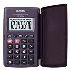 Casio Pocket Electronic Calculator Hl 820lv Bk Large Display 8 Digit Lcd Black