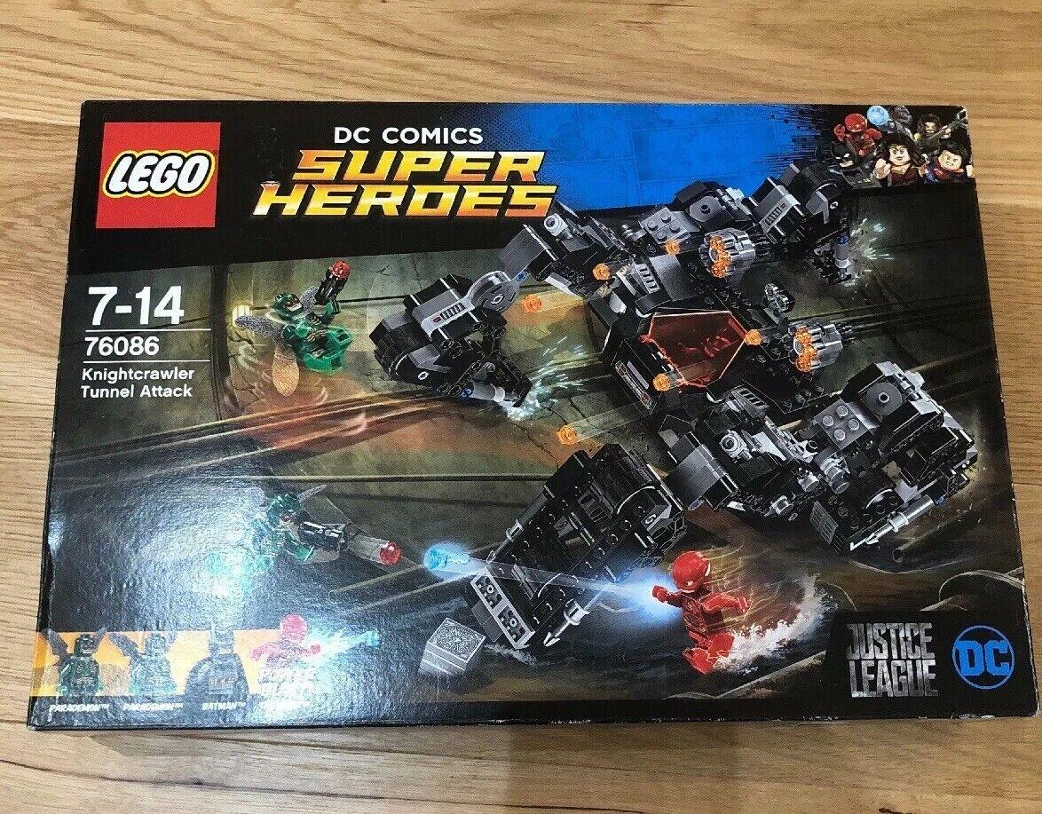 Lego Lego Lego KNIGHTCRAWLER TUNNEL ATTACK 76086 New Retirot Rare DC Super Heroes 71e9d3