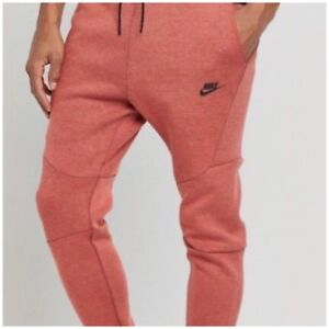 Fleece Tama 602 hombre Joggers Rojo Fit Pista Slim o Heather Nike 805162 para grande Tech a0RqZE